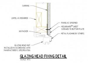 Glazing Head Fixing Detail