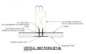 Vertical Fixing Detail