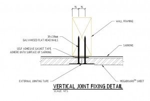 Vertical Fixing Joint nails