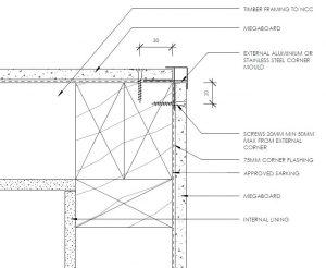 External Corner Mould
