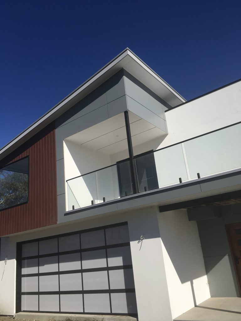 MEGABOARD 8mm was used as the cladding for this house built in Goolwa